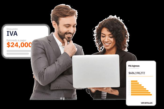 contador experto y plataforma tecnológica