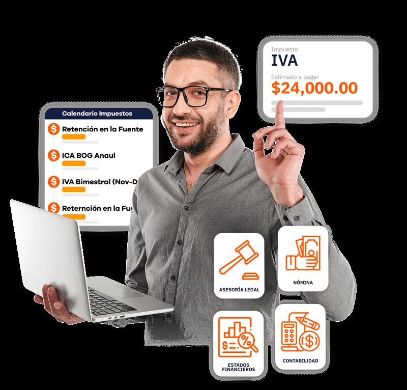Beneficios de plataforma de contabilidad