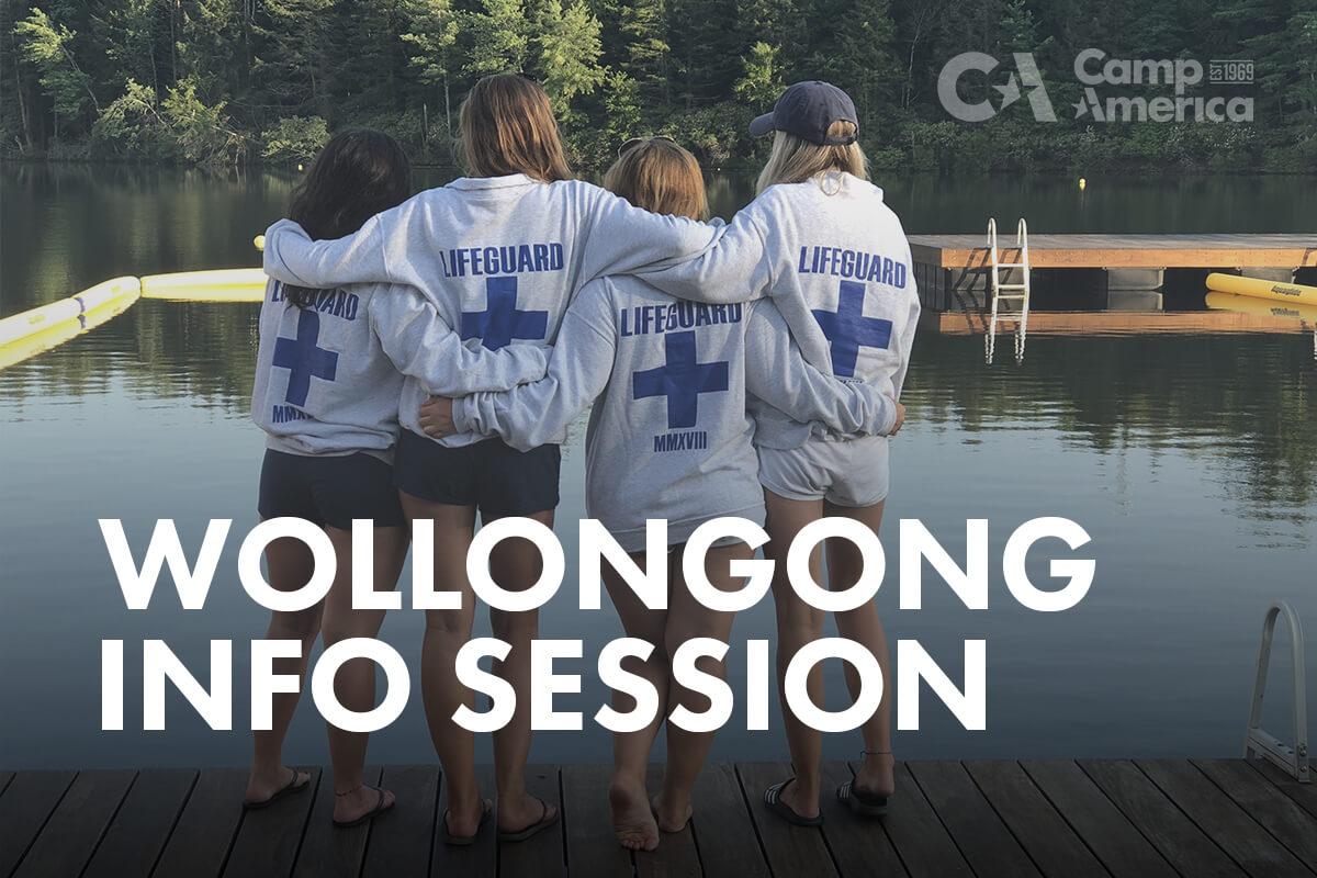 four life guards camp america info session