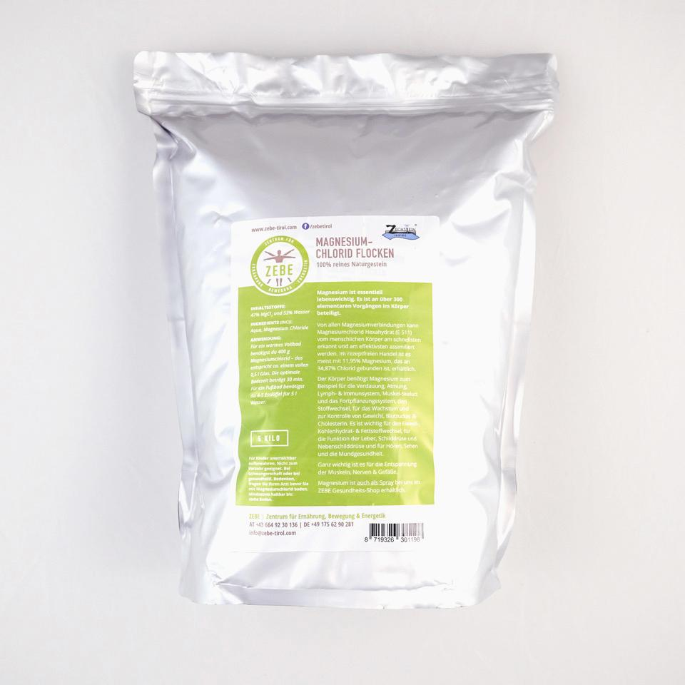 Magnesium-Chlorid Flocken, 3 KG