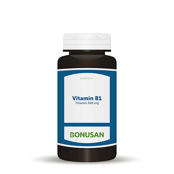 Vitamin B1 Thiamin 300mg, 60 Stk.