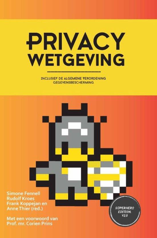Privacy Wetgevingsboekje