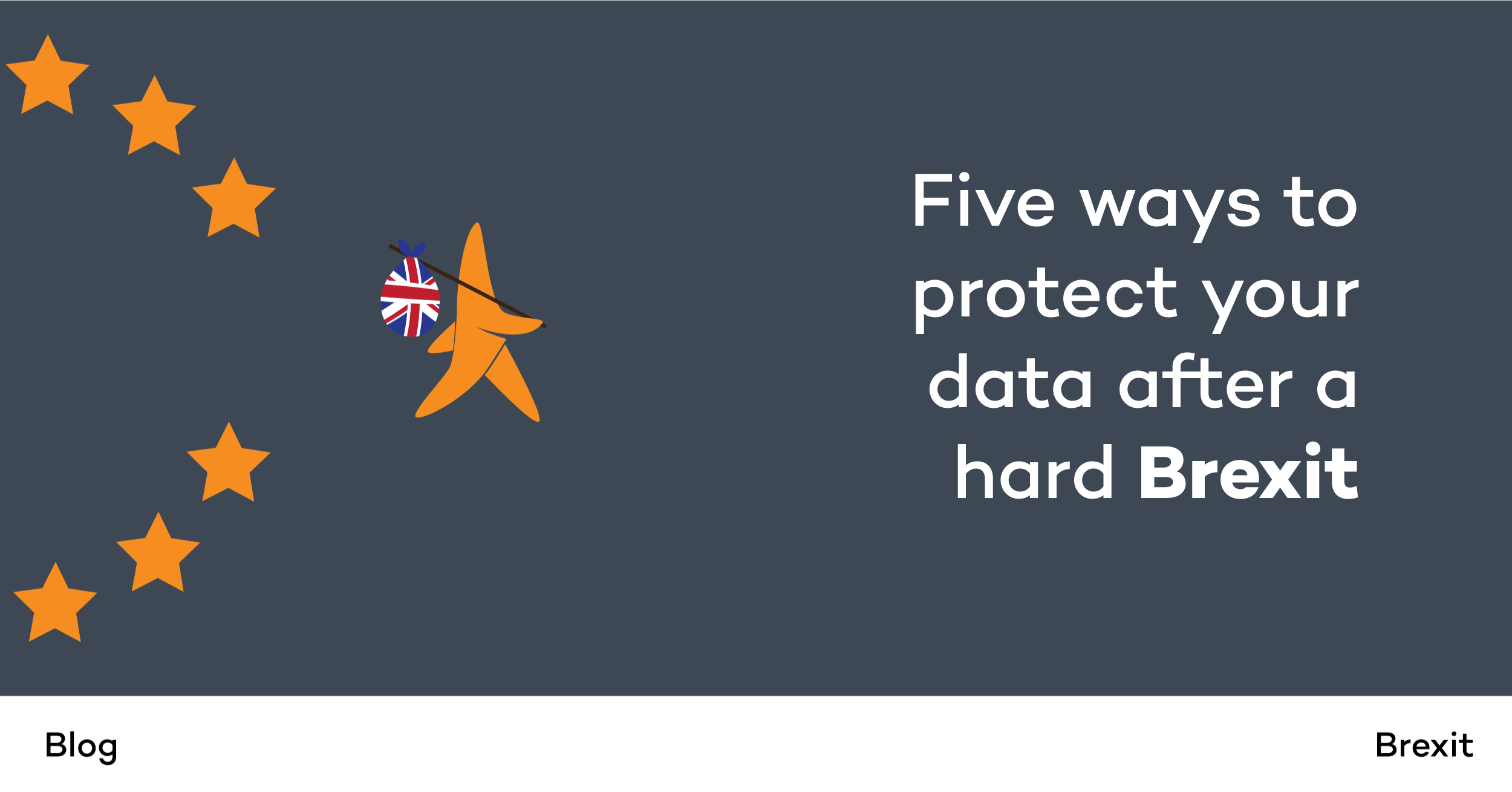 Five ways to protect your data after a hard Brexit