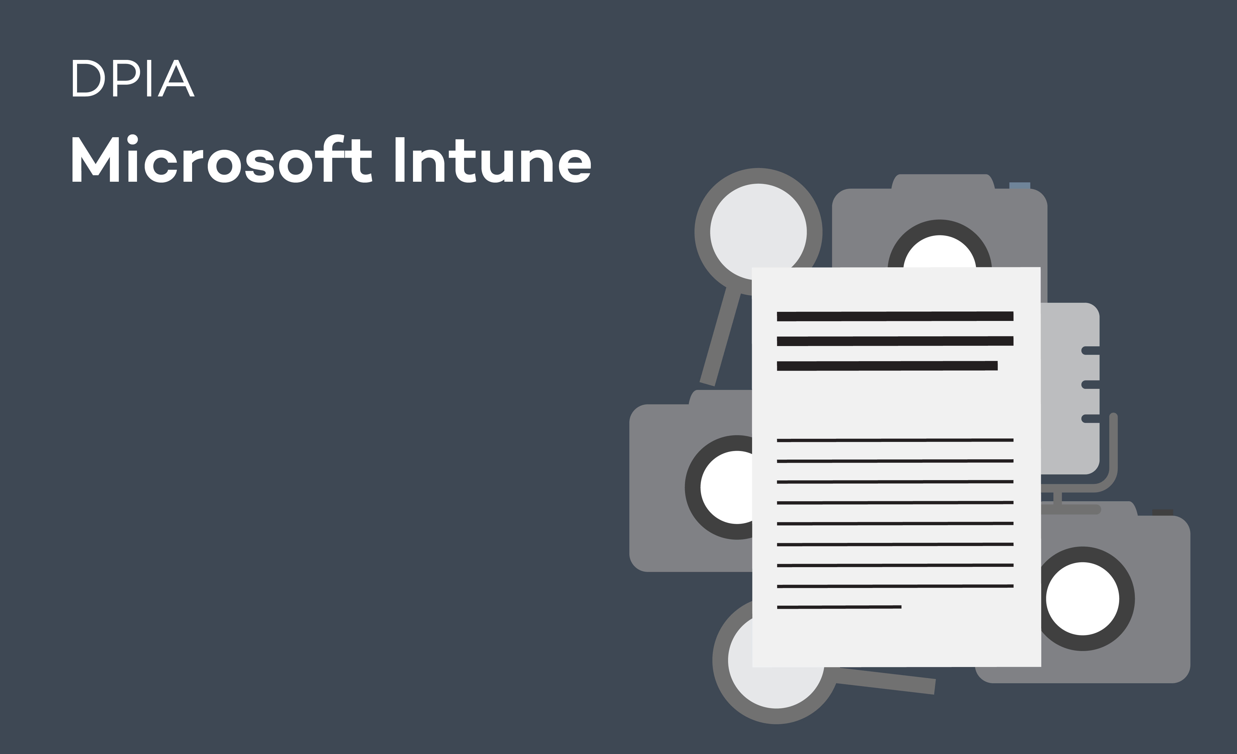 New research Microsoft Intune: five low data protection risks