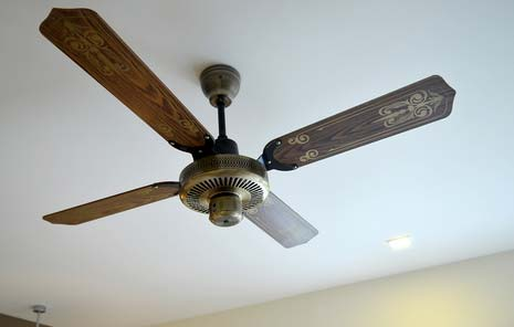 Attach your fitness tracker to a ceiling fan to get a reduction on your employer sponsored health care premium