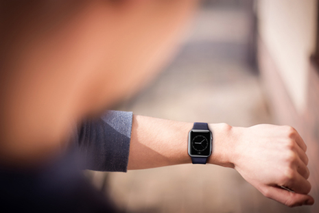 Apple watch casual accessory to track BP