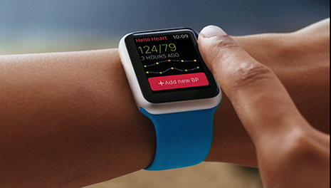 Apple Watch Blood Pressure monitor