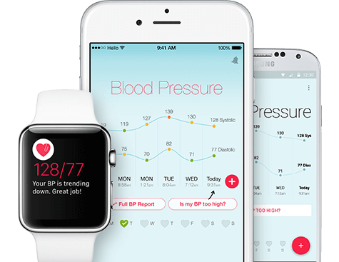 Hello Heart for iPhone and Apple Watch; Hello Heart for Android