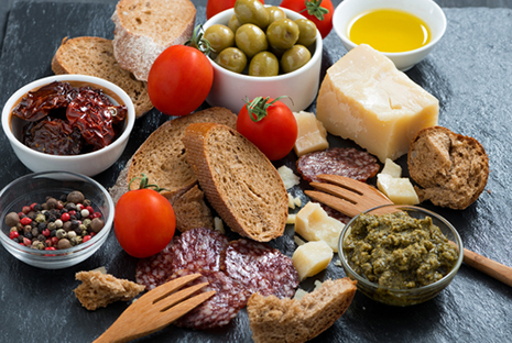 Mediterranean food is great for lowering BP