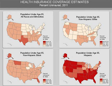 High Rate of Uninsured Latinos