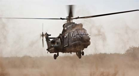 military helicopter noise increases risk of high blood pressure