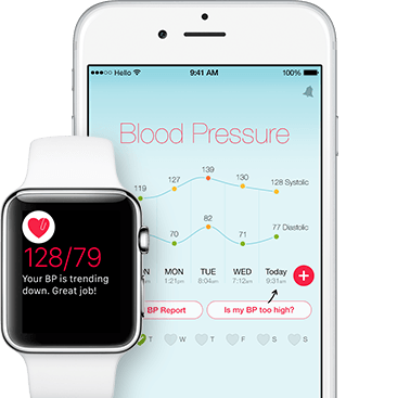 Hello Heart Blood Pressure App available for iPhone and Apple Watch