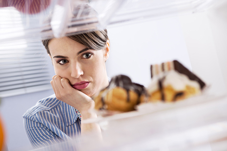 Cortisol increases food cravings which affects diabetes