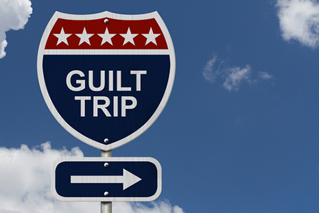 Guilt is a heavy burden that can worsen hypertension