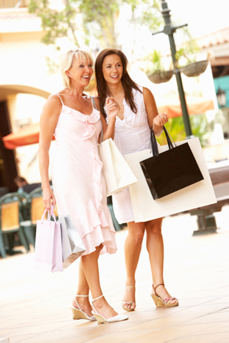 Shopping reduces stress and BP