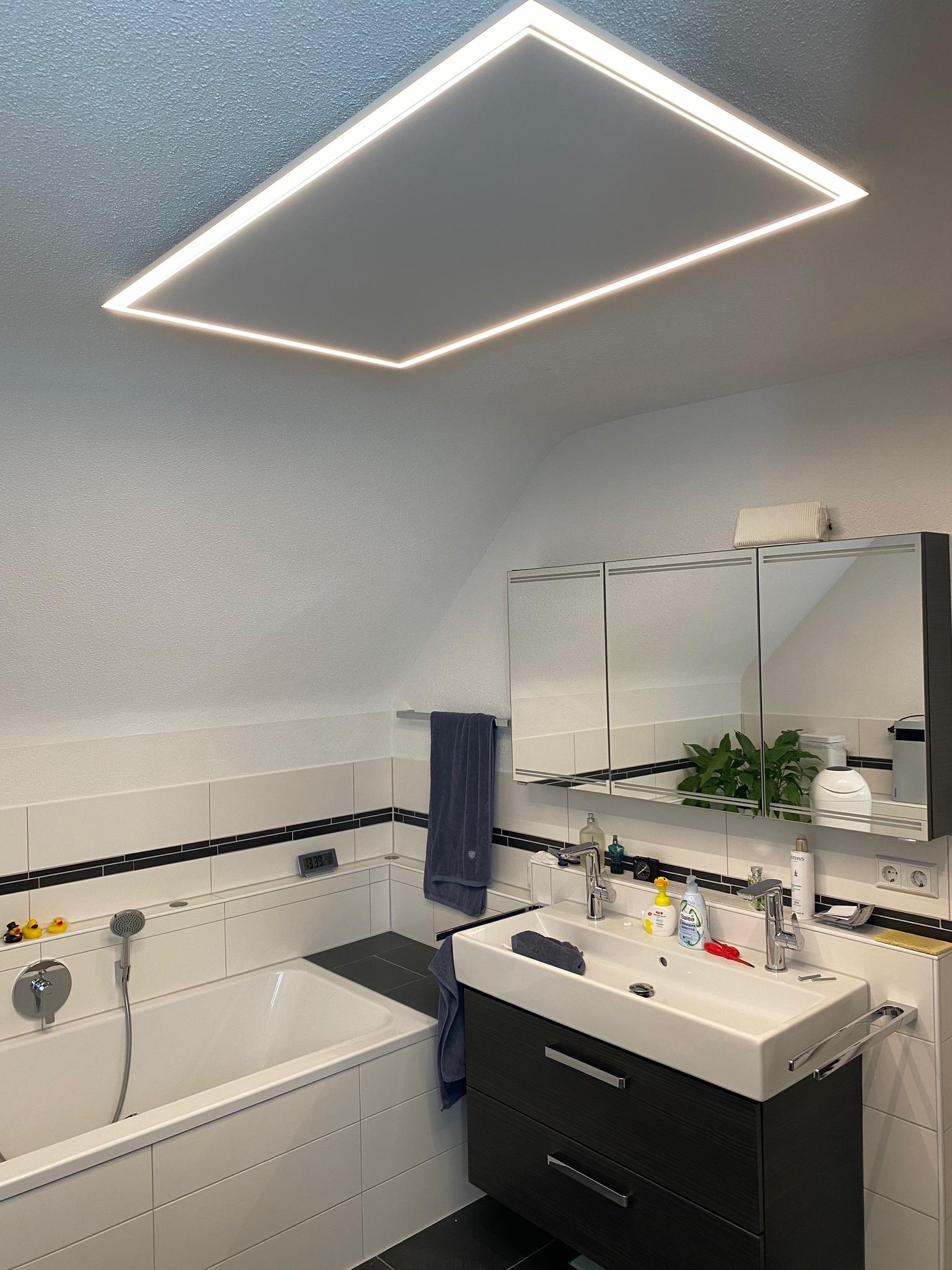 Infrarotheizung Klassik mit LED Rahmen