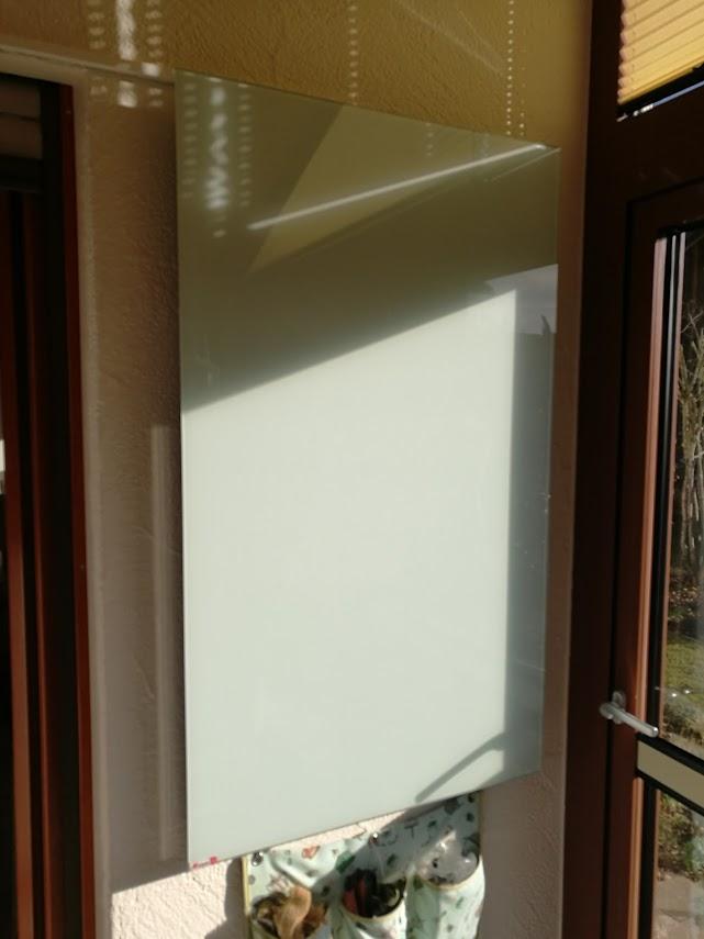 Infrarotheizung aus Glas