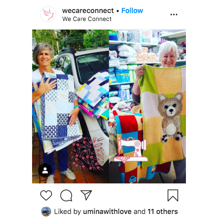 Instagram feed image from We Care Connect
