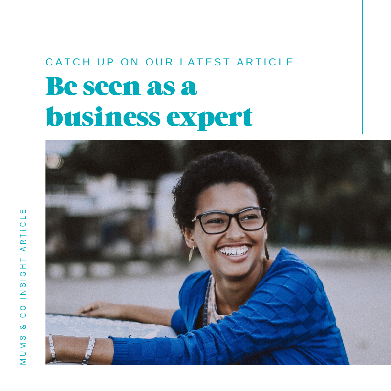 Be Seen As A Business Expert Article
