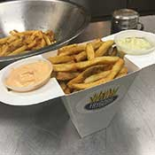 plain fryborg fries