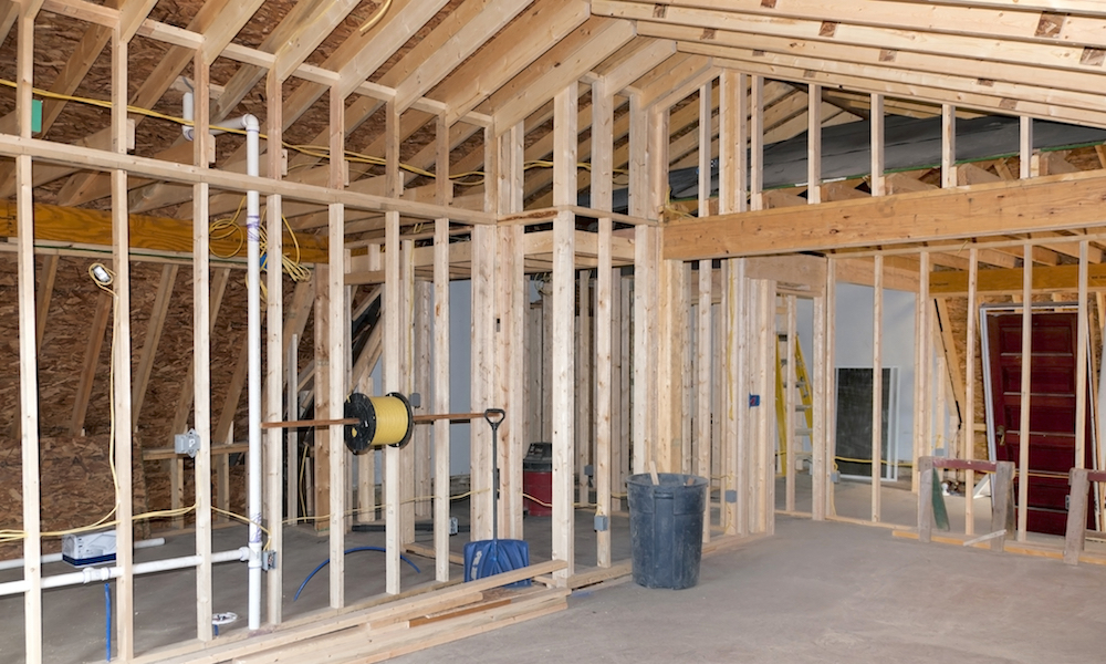 Tillbyggnad av huset