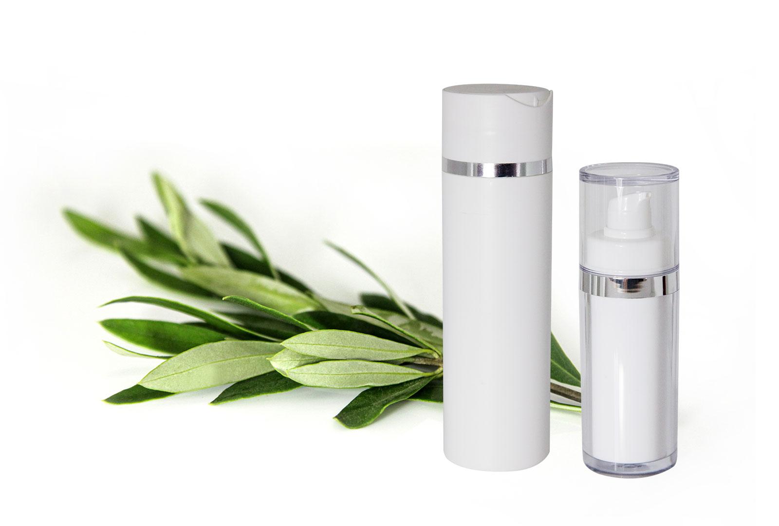 Puvero Produkte mit Olivenzweig
