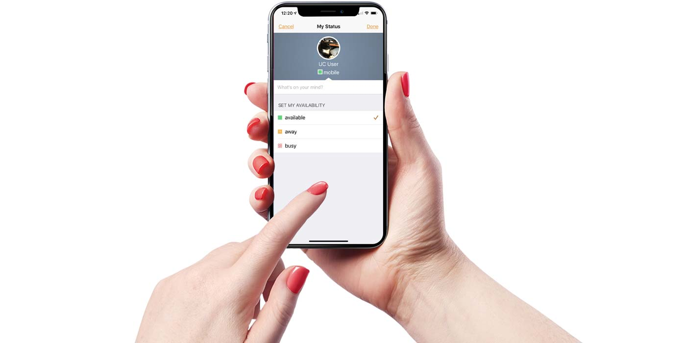 VoIP Mobile app for remote working