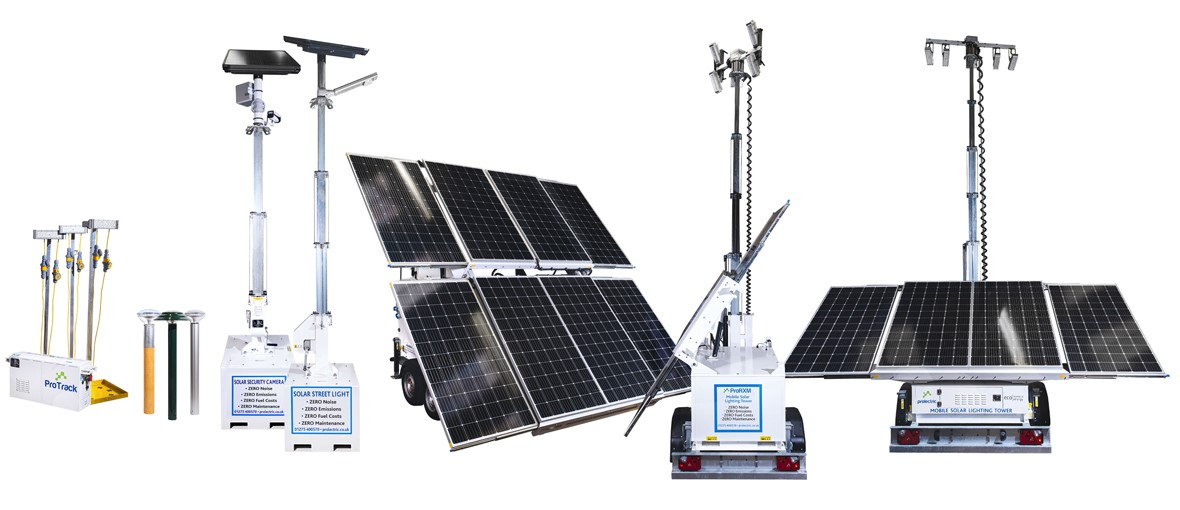 Prolectric Solar Lighting Towers