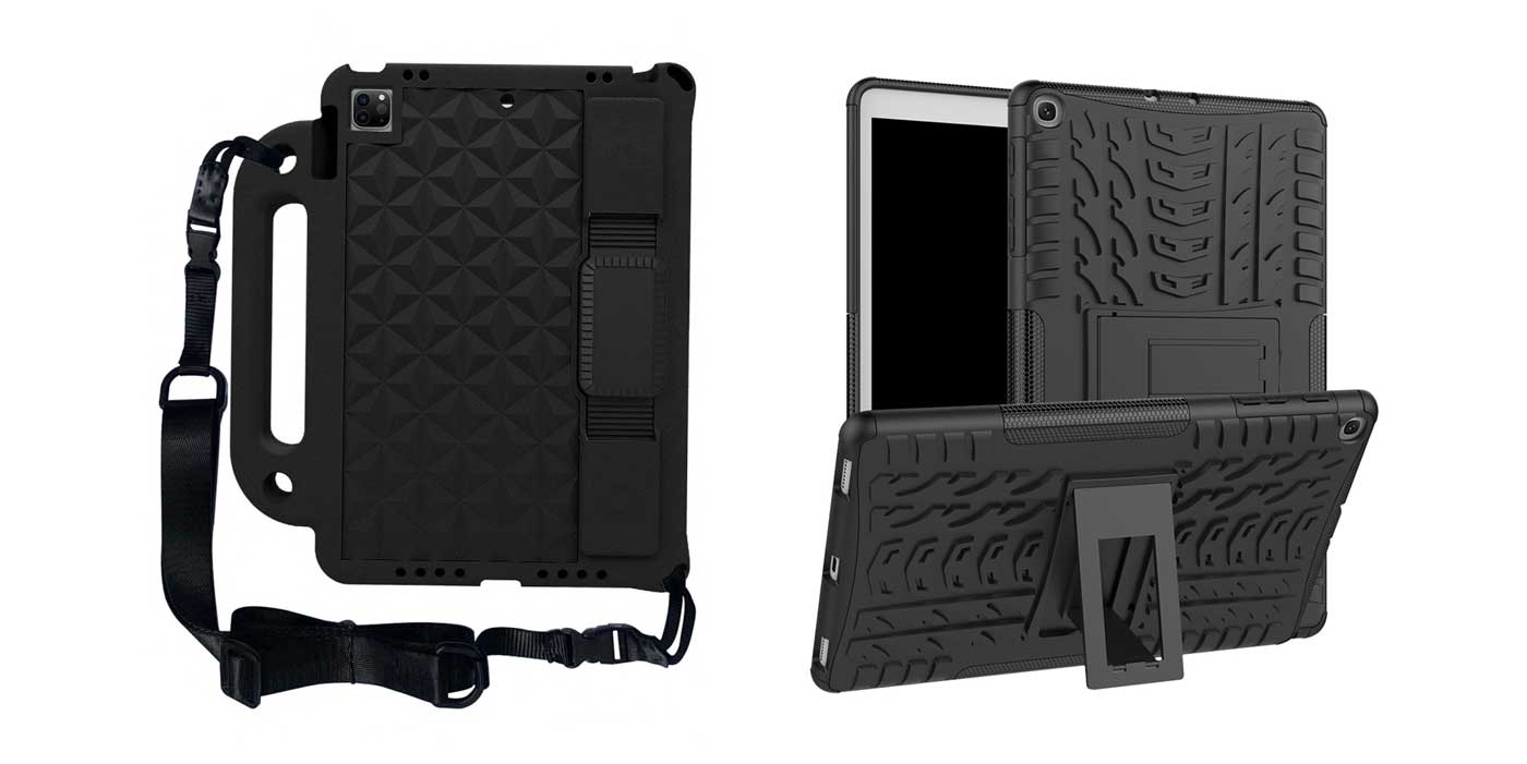 Rugged tablet & iPad case for schools