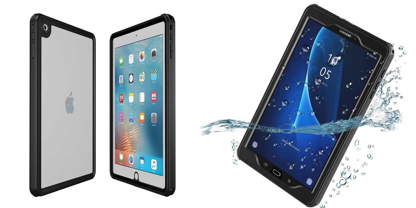 IP68 Waterproof tablet & iPad cases for schools