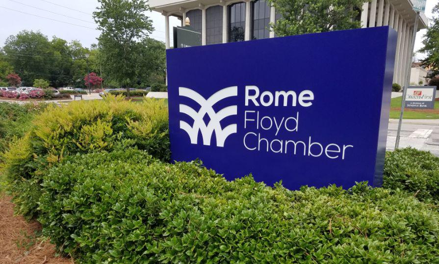 rome floyd chamber sign
