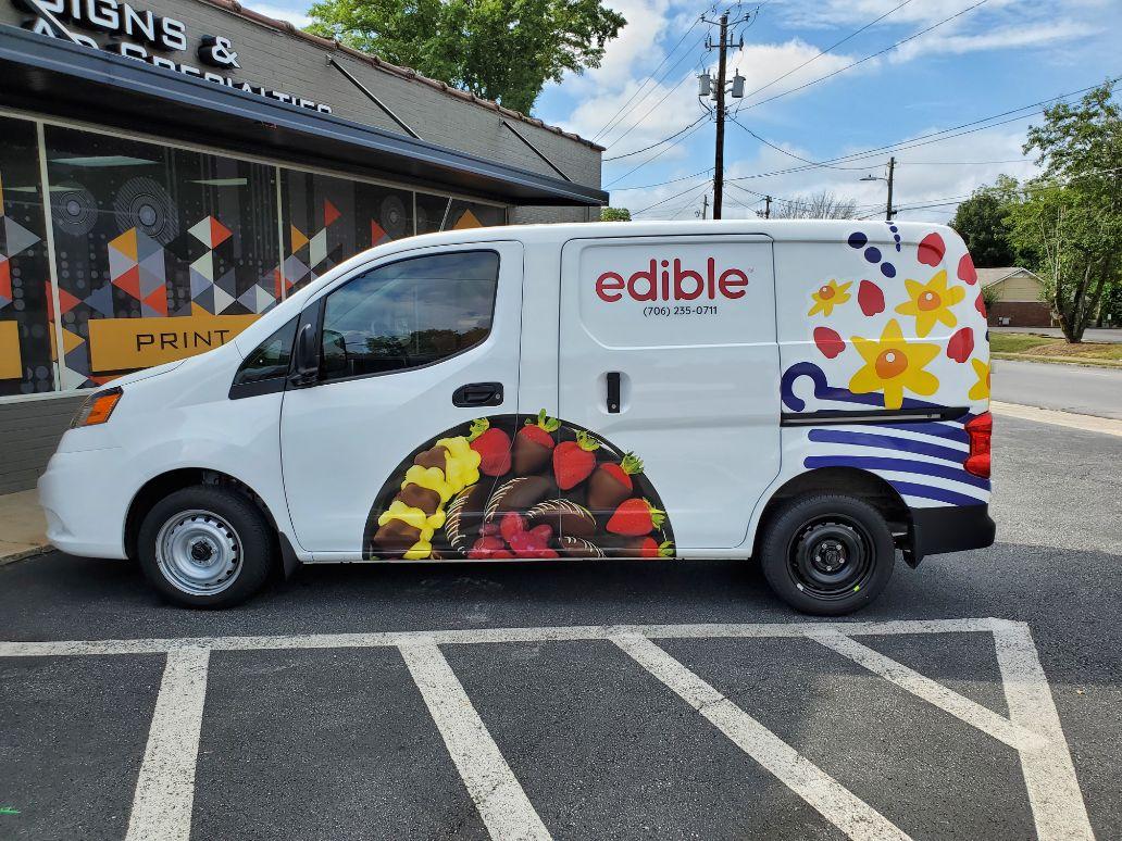 edible arrangements van wrap