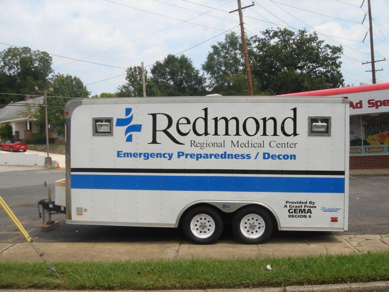 redmond regional medical center trailer wrap