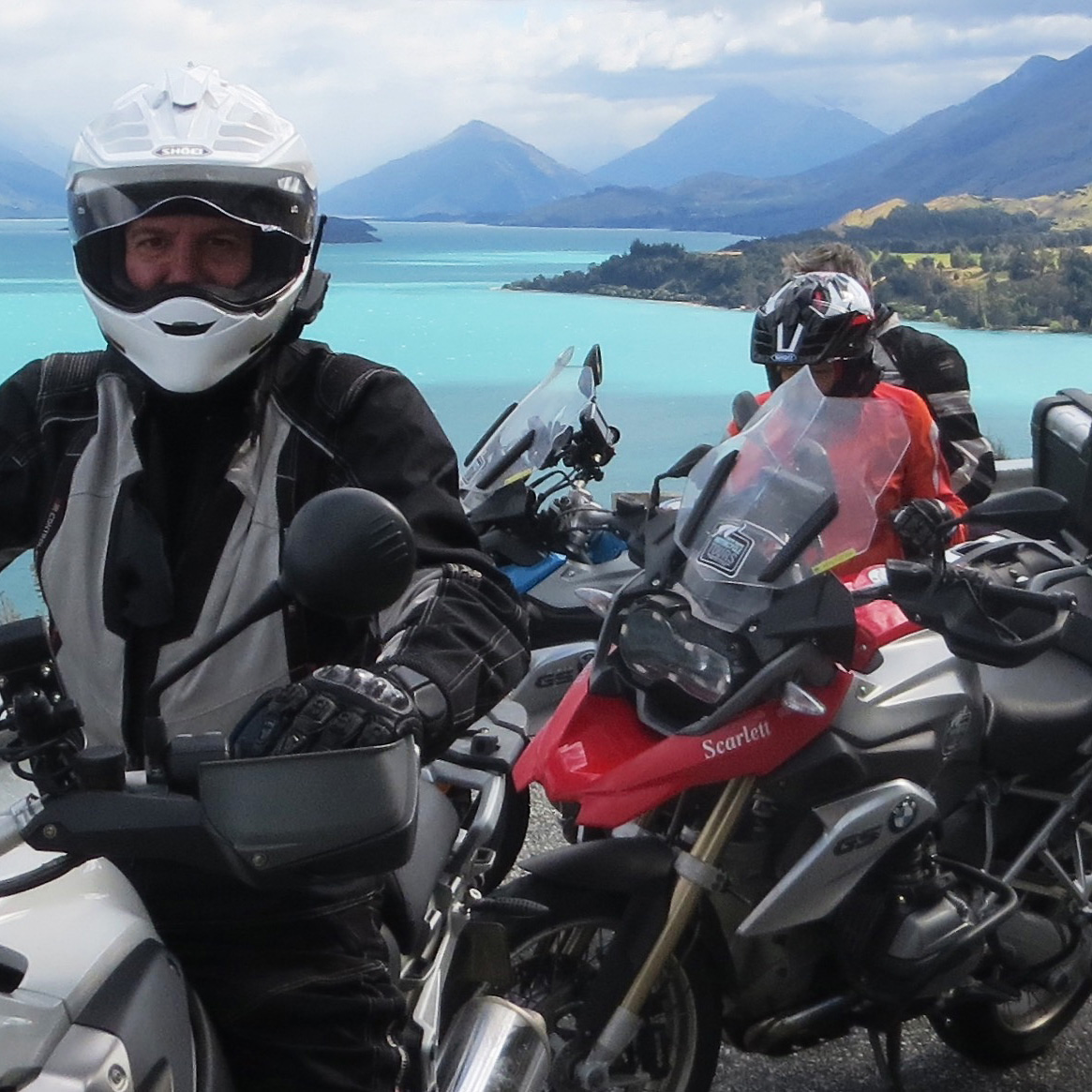 Northern California BMW Motorycle Tour in Lake Tahoe California by High Road Motorcycle