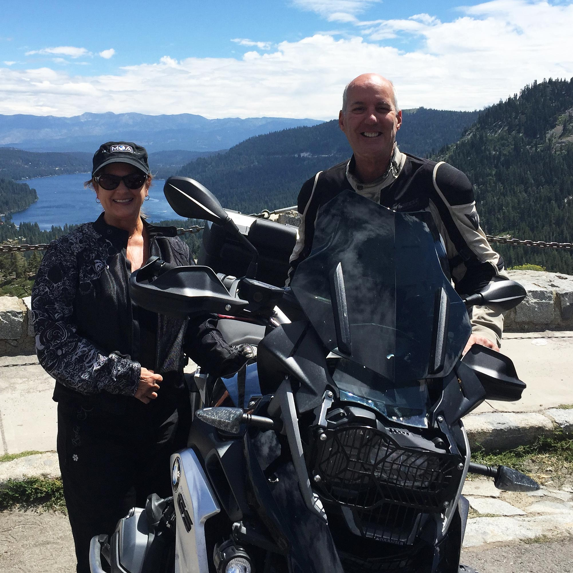 Northern California BMW Motorcycle Tour in Lake Tahoe California by High Road Motorcycle