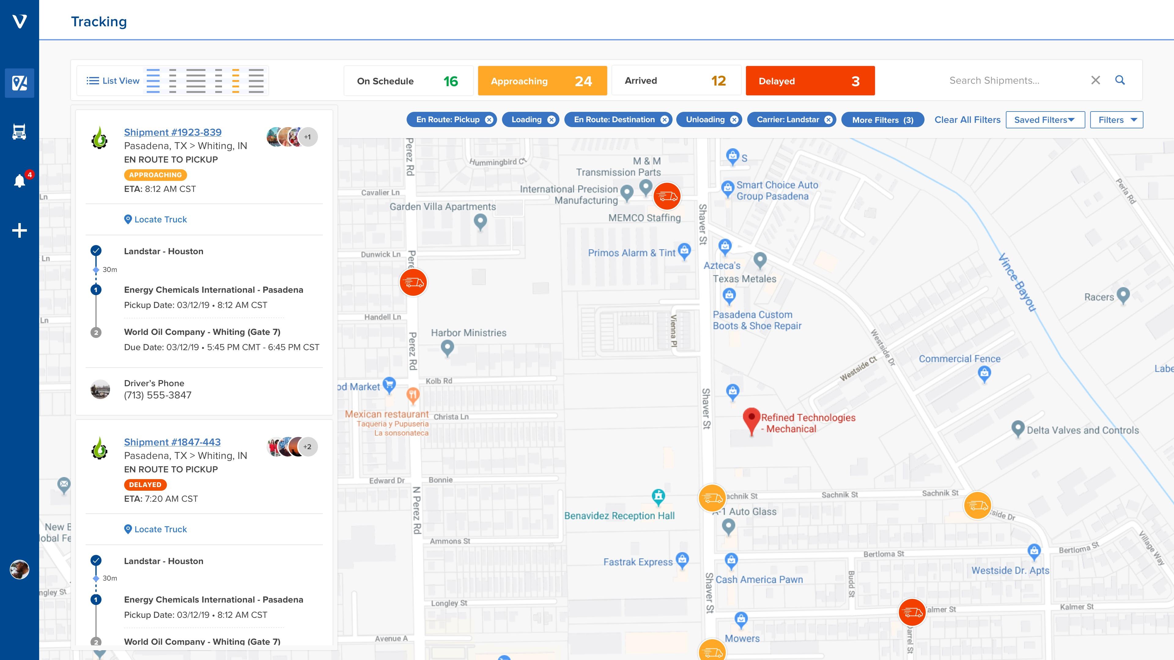 screenshot of velostics tracking view