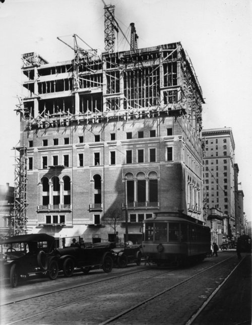 Constructing the Saint Paul Athletic Club