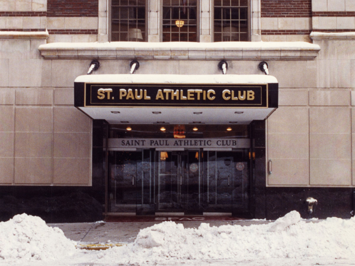 Old Saint Paul Athletic Club entrance