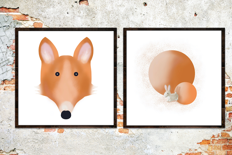Vos en konijn