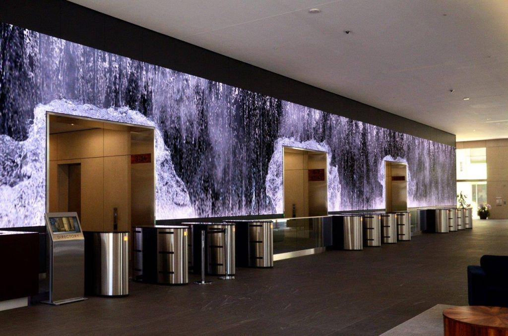 Large indoor display