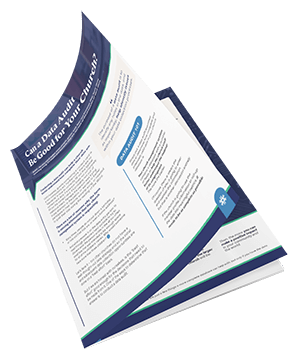 Download our free Data Audit guide to see how to discover holes in your churches data.