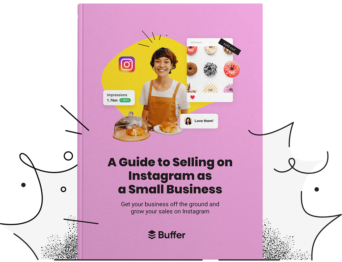 A guide to Selling on Instagram as a Small Business book cover