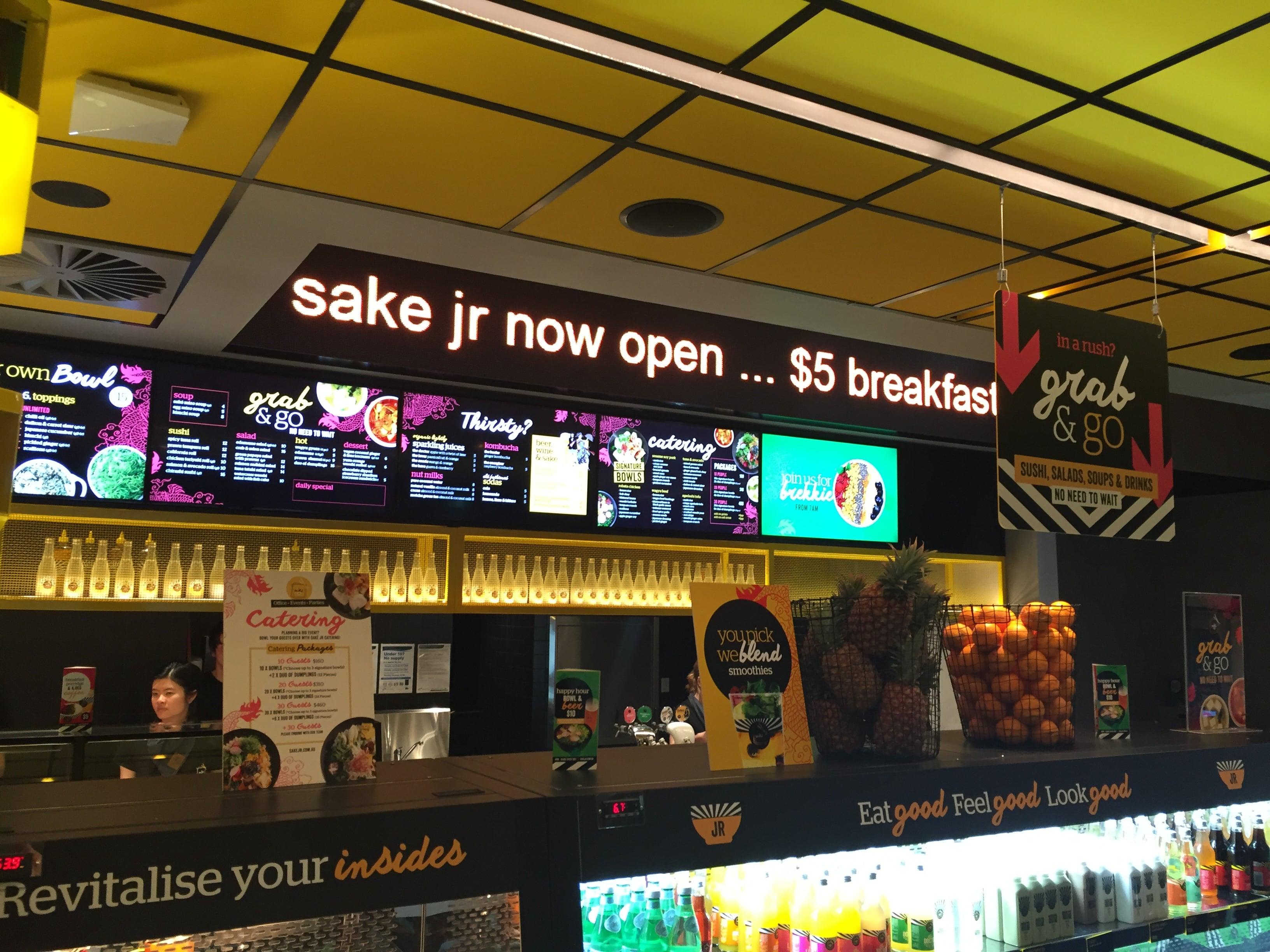 Sake Jr – Bourke St, Melbourne