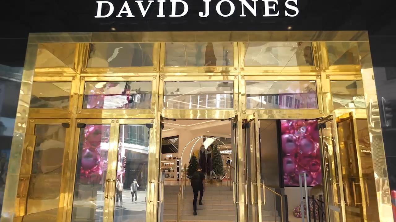 David Jones - QEII, Elizabeth street, Sydney