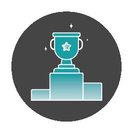 Icon: winning