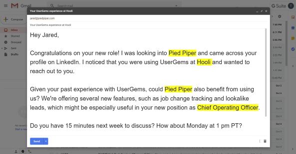 UserGems prospect email
