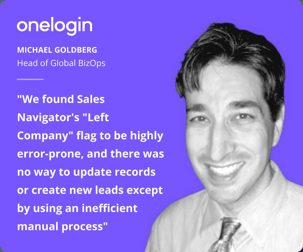 UserGems vs LinkedIN Sales Navigator testimonial