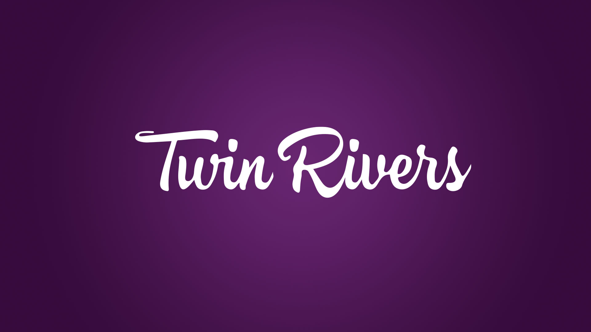Twin Rivers Winery Logo design