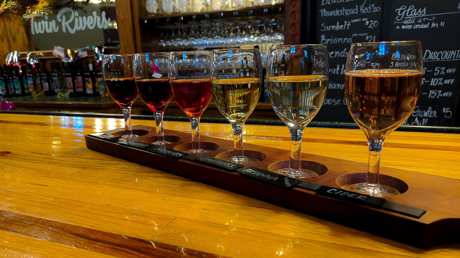 Twin Rivers Winery Tasting Room