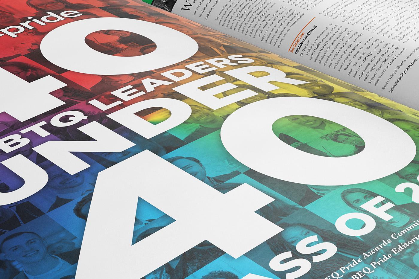 BEQ Pride Magazine Layout 40 LGBTQ Leaders Under 40